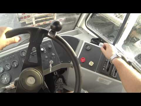 Manobrando as carretas - GoPro na Testa