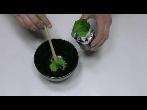 とても簡単な抹茶の点て方 / お濃茶の練り方