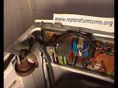 PLACA ELECTRONICA LAVADORA DAEWOO. Componentes que suelen fallar en placas.