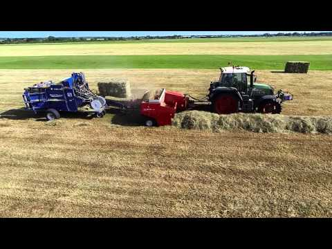Old Manor Farm Haymaking 2014