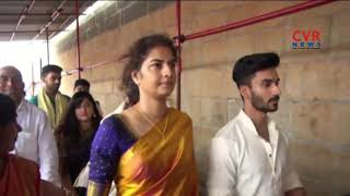 Actress Prema and Minister Talasani Srinivas Yadav visits Tirumala | CVR News - CVRNEWSOFFICIAL