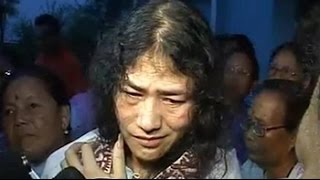 Irom Sharmila says happy to be released but will continue fast - NDTV