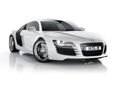 AK3D 3D car animation tutorial book Audi R8