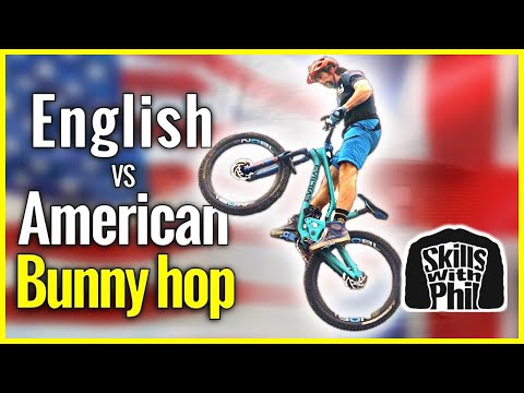 How to use the English & American bunny hop | Mountain bike Skills explained