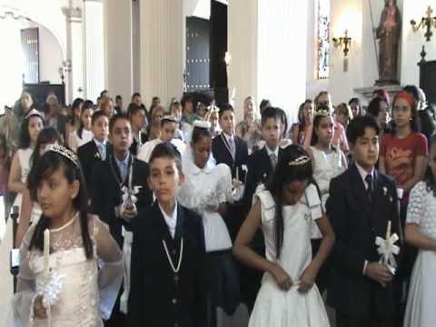 PRIMERA COMUNION DE LA UNET 15-11-2009