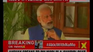 PM Narendra Modi talks on Anger Management with Bollywood actor Akshay Kumar - NEWSXLIVE