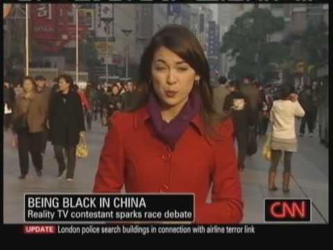 Czarnoskóra Chinka nie ma łatwego życia!