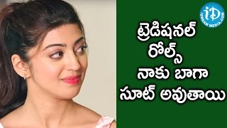 Most Of My Roles In Films Are Traditional - Pranitha || Talking Movies With iDream - IDREAMMOVIES