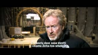 Prometheus - Featurette Origins sottotitolata