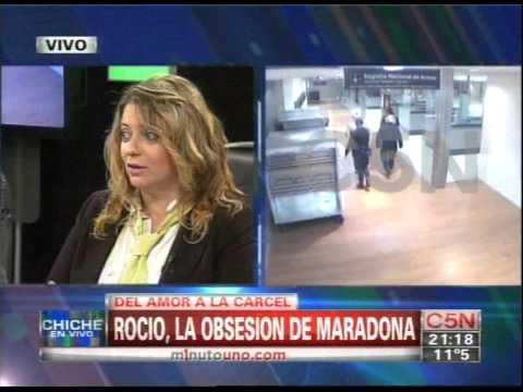C5N - CHICHE EN VIVO: ROCIO OLIVA, LA OBSESION DE MARADONA