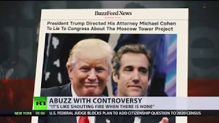 Explosive BuzzFeed report alleges Trump told Cohen to lie to Congress - RUSSIATODAY
