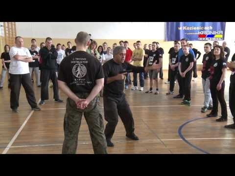 Seminarium Kapap Krav Maga w Kozienicach (08.03.2014)