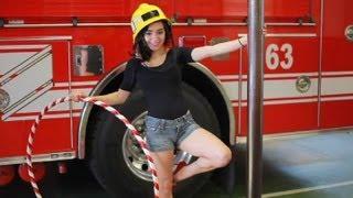 Firehouse Burlesque Hula Hooping