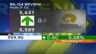 In Business- RIL Q4 Profit Rises To 2-Year High - BLOOMBERGUTV