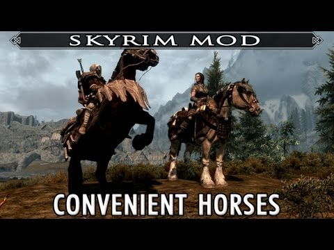 how to find horse in skyrim