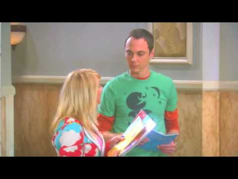 Sheldon's laugh (Big Bang Theory).