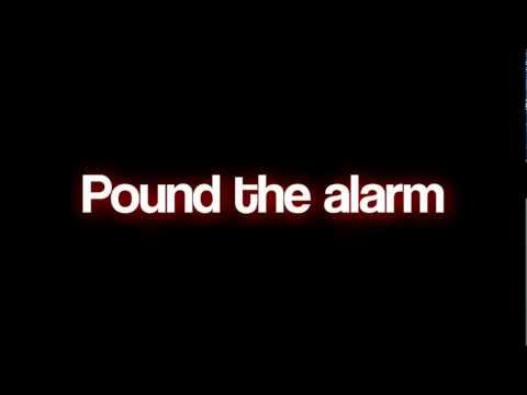 Nicki Minaj- Pound The Alarm Lyrics HD