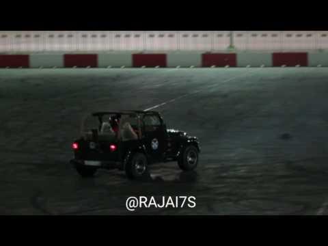 حلبة البحرين - استعراض ابو تركي على الرانجلر