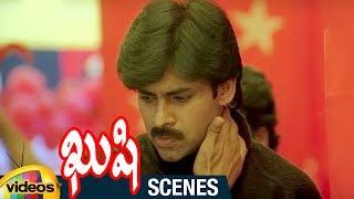 Pawan Kalyan Stylish Stick Fight   Kushi Telugu Movie Scenes   Bhumika   Ali   Mango Videos - MANGOVIDEOS