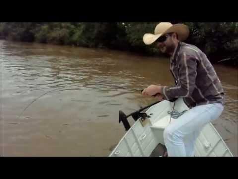Pescaria de Dourado - Rio Verde Brasilandia MS