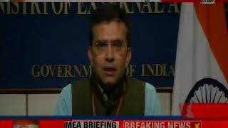 MEA briefing the press, says no meeting to be held between India and Pak - NEWSXLIVE