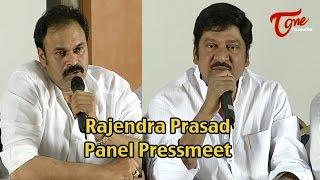 Rajendra Prasad Panel Pressmeet about MAA Elections 2015 live Event - TELUGUONE