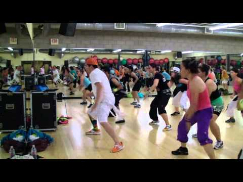 Like a G6 - Far East Movement ft. Dev - Hip Hop Fitness w/ Bradley - Crazy Sock TV