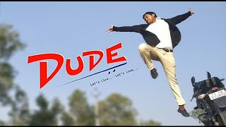 DUDE -  telugu short film motion poster by Srivera's venky - YOUTUBE