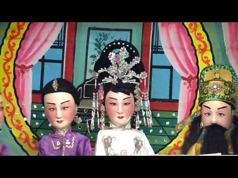 Hainanese Puppet Show 8 Immortals