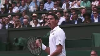 Wimbledon 2017 Gentlemen's singles QF: Federer vs Raonic - ESPNSTAR