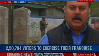 Final phase of J&K municipal elections today; 2,50,794 voters to exercise their franchise - NEWSXLIVE