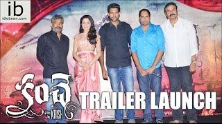 Kanche Trailer Launch