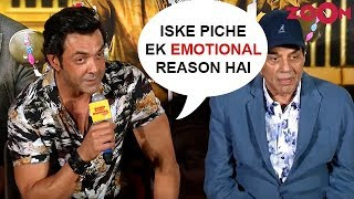 Bobby Deol On His Name Being 'Kaala' In 'Yamla Pagla Deewana Phir Se' - ZOOMDEKHO