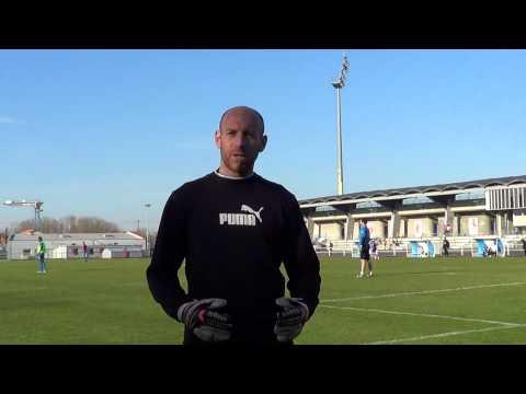 Chamois Niortais Pascal Landais gardien de but conseil entrainement Ligue 2 goalkeeper