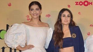 Sonam Kapoor's Interesting Reply On Her Cat-fight Rumours With Kareena Kapoor - ZOOMDEKHO