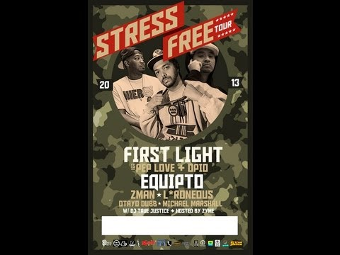 Equipto & Bored Stiff present the Stress Free Tour (Video)