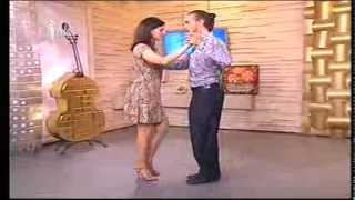 Видео-урок аргентинского танго на телеканале ТДК