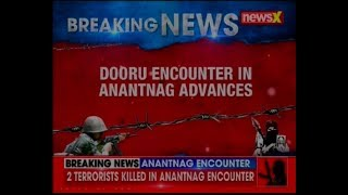 Anantnag encounter: 2 terrorists killed in Dooru area, J&K; AK-47 and other weapons recovered - NEWSXLIVE