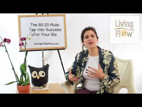 The 80:20 Rule: Tap Into Success For Your Biz