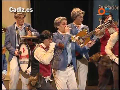 La agrupación Los youtube llega al COAC 2013 en la modalidad de Chirigotas. Primera actuación de la agrupación para esta modalidad.