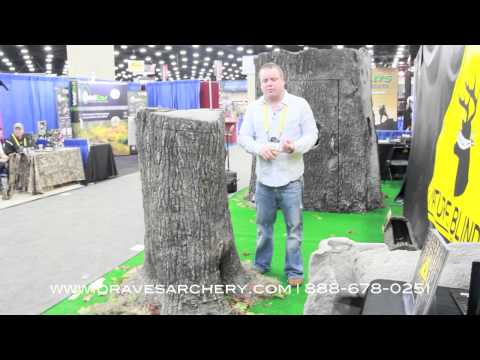 Nature Blinds Deer & Wildlife Feeder 2013 ATA with Draves Archery