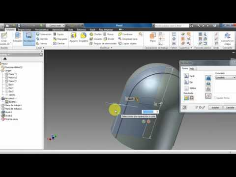 tutorial autodesk inventor dessiner un piston