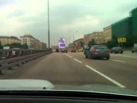 Speeder Crashes Into a Traffic Jam