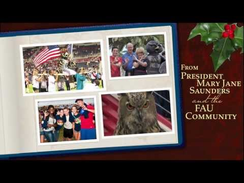2011 Holiday Greeting from FAU President Saunders