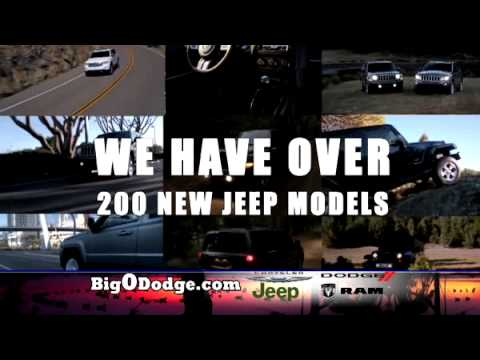 BIG O DODGE'S GIANT JEEP SELL OFF!