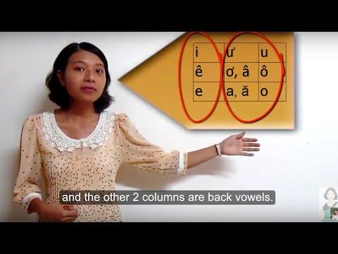 Learn Vietnamese With Annie 05, Vietnamese Pronunciation: Vowels