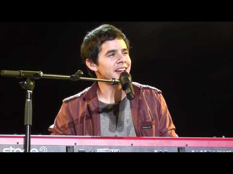 David Archuleta Thousand Miles, Live Kuala Lumpur, 26th July 2011