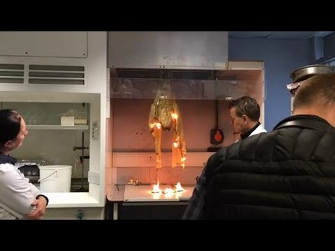 Testing Toys for Flammability