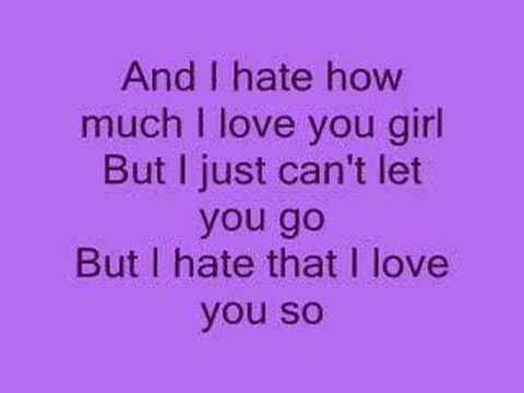 Hate that i love you lyrics