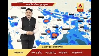 Skymet Report: Weather Forecast of 25th June, 2018 - ABPNEWSTV